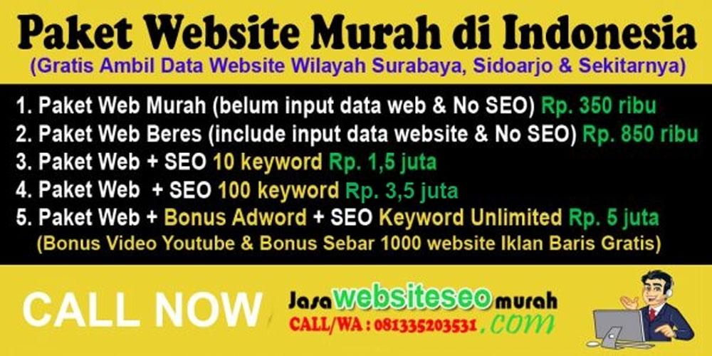 Website murah Sidoarjo, Website murah Surabaya, Website murah Jakarta, Website Murah Jogja, Website Murah Bandung, Website Murah Bali, Website Murah Terbaik, Website Murah Bagus,  Website Murah