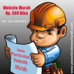 Website Murah Rp. 500.000