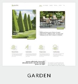120 themes garden