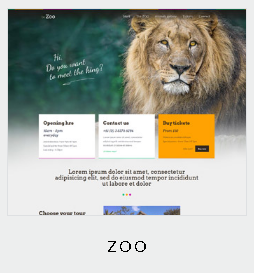 132 themes zoo