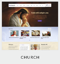 themes church