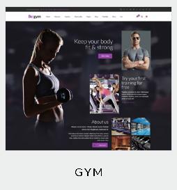 themes gym